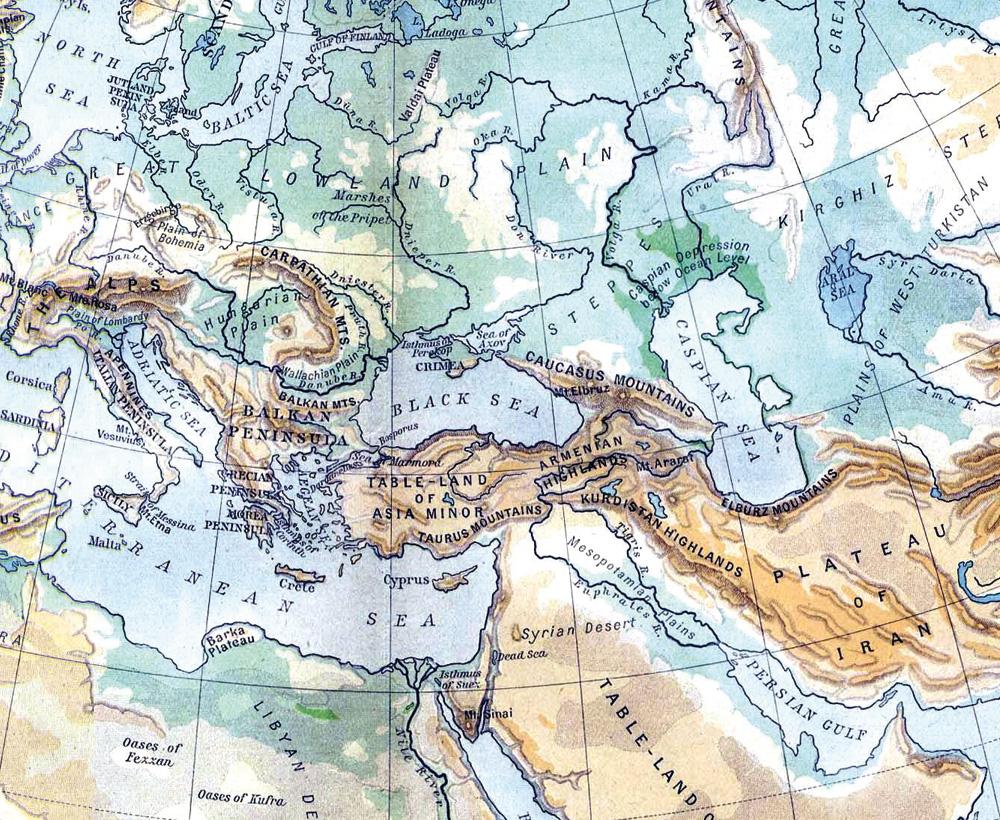 Carta Caucaso