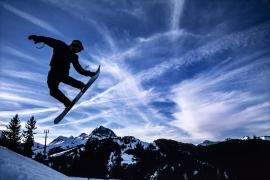 Snowboard freestyle, Mont-Rouge, Svizzera