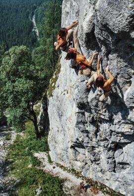 Ines Papert a Berchtesgaden, Germania