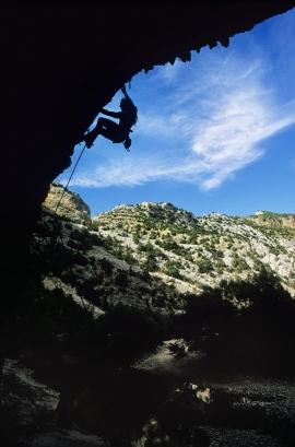 Arrampicata a Rodellar, Spagna