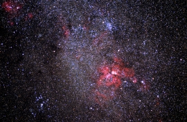 Nebulose intorno a Gamma Cygni.