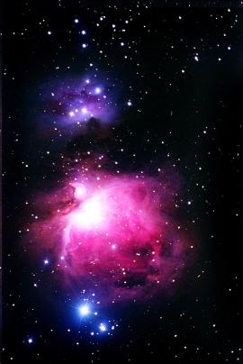 Nebulosa di Orione M42.