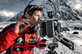 """Pakistan 2009. Al Circo Concordia durante la spedizione """"Sulle Tracce dei Ghiacciai - Karakorum 2009"""". Foto di: Paolo Aralla, Archivio: F. Ventura"""