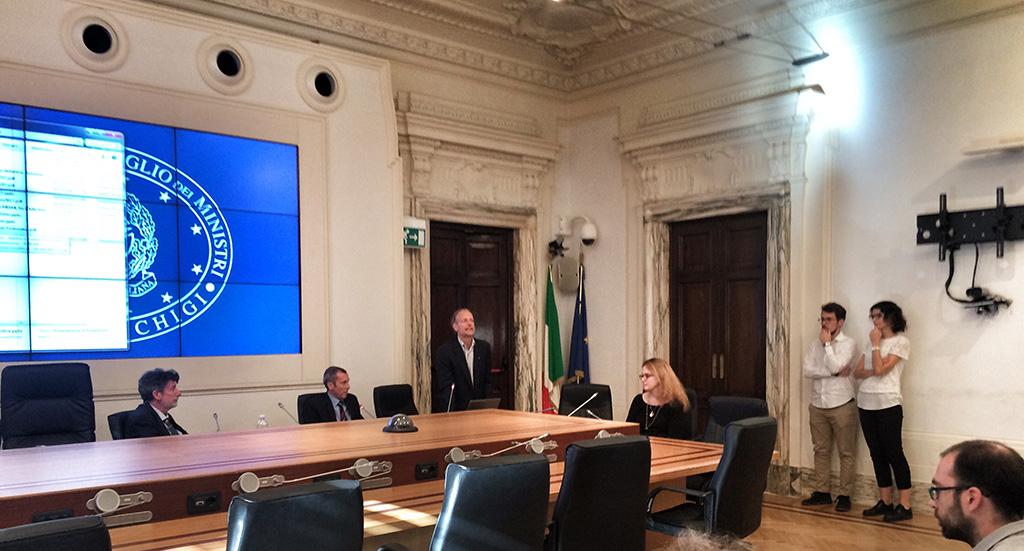 Sulle Tracce dei Ghiacciai – Ande 2016 –  a Palazzo Chigi