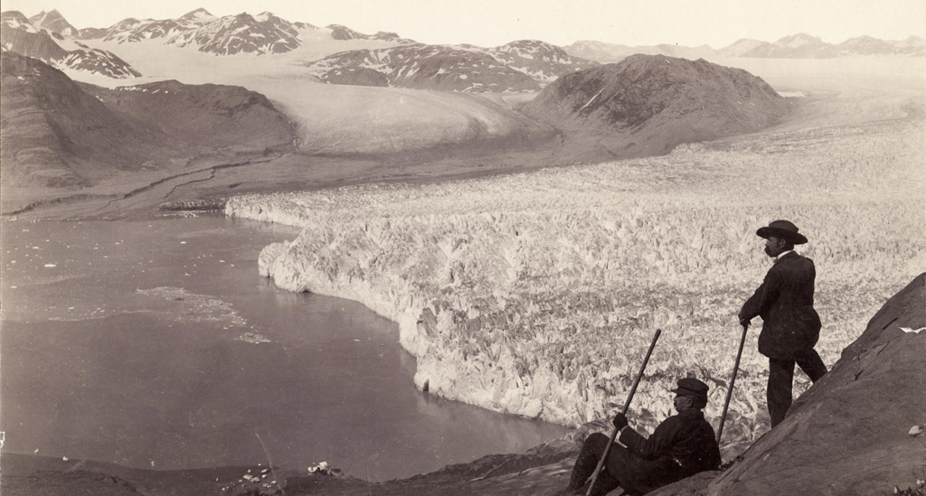 Muir glacier La Roche 1893